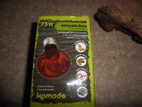 Vivarium accessories (Bulb,heater matt,heater lamp) for sale