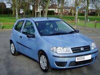2006 Fiat Punto 1.2 Active 8v. Service History. Mot July. Excellent Condition. Manual. Bargain £795.