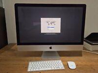 "Apple iMac 27"" Late-2014 5k Retina 256GB SSD 16GB RAM R9 M290X 2GB Immaculate"