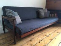 Guy Rogers Manhattan Heals Danish Style 8Settee Sofa Bed 1960s