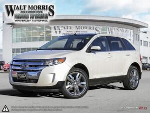2014 Ford Edge LIMITED: ACCIDENT FREE, LOW MILEAGE, FULLY LOADED