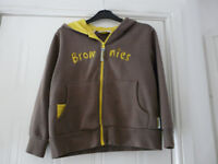 BROWNIE HOODIE - GREAT CONDITION - NOW REDUCED .... AGAIN! 34 inch chest