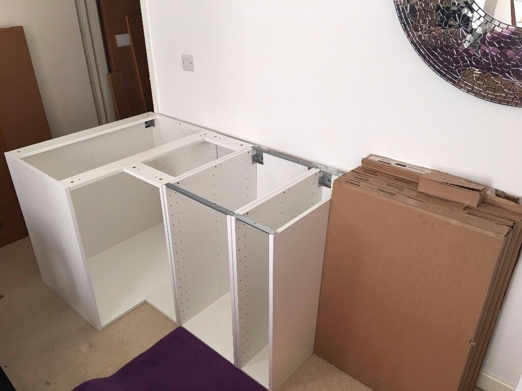 New Ikea Kitchen Units and Sink