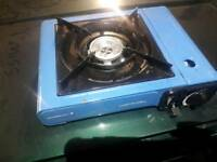 Camping stove used but in good working condition