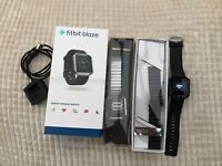 Fitbit Blaze with extra frame band and straps Only £100