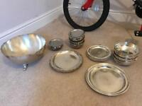 Brand new Silver serving set