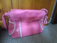 Pink Walla boo changing bag
