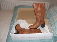 Faith Boots Size 37 Unused and boxed with original price tag of £75.00