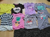 Girls tops age 7-8.