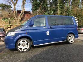 2006 Blue VW Transporter Van T5 / T30 1.9TDi - Converted. Diesel. Manual