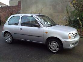 2002 nissan micra 1.0 cheap car clio fiesta first car 240ono