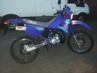 Yamaha DT DTR 125 as new show condition