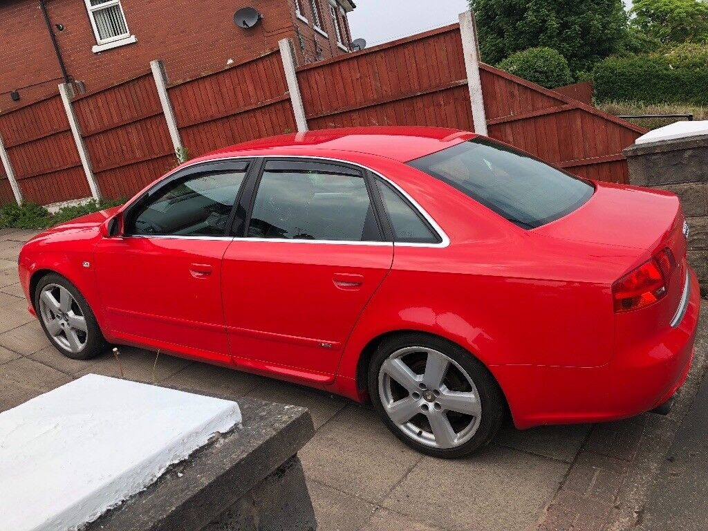 Audi A4 B7 20 Tfsi 220 Bph S Line Special Edition Red In Stoke On