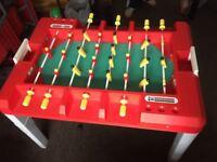LARGE BAR FOOTBALL TABLE GAME