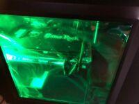 gaming PC with RGB lights 6th gen i7 6700 GTX 1080 8GB 240GB SSD 1TB HDD corsair spec-01