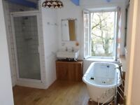 2 bedroom semi-detached stone cottage in picturesque location in Brittany