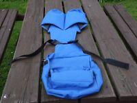 saddlebag blue new