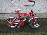 Trek grommet red bike with pedal back brake 12 1/2 inch wheels suit child 2 to 3 years