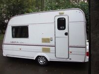 *(Lightweight)* Caravan, LUNA ARIVA GTS, 2 Berth with Full Awning & Bed Annex