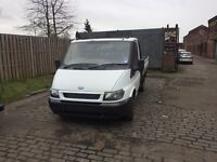transit pick up 54reg not tipper 155000 on the clock full years mot