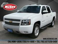 2011 Chevrolet Avalanche 1500 LT 4x4 - Leather, Sunroof, Dual Pw