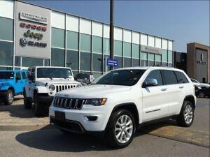 2017 Jeep Grand Cherokee Limited POWER SUNROOF, NAV, BACKUP CAME