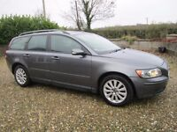 Volvo V50 Diesel, MOT to July 2017 With Service History.