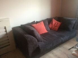 New 2 & 3 seater sofa