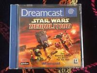 Star Wars Demolition Dreamcast Game