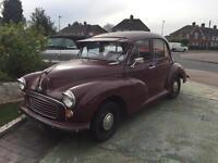 1958 Morris 1000 4 door saloon