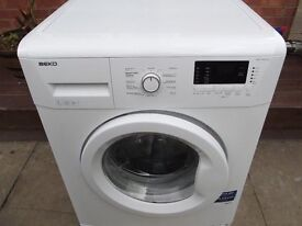 BEKO 7KG WASHING MACHINE IN WHITE FULLY REFURBISHED COMES WITH 3 MONTHS WARRANTY