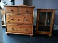 5 Pieces of Pine Furniture