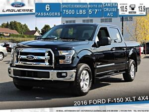 2016 Ford F-150 XLT*4X4*6 PLACES*CAMERA*A/C**