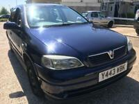 VAUXHALL ASTRA 1.6 ENVOY/AUTOMATIC/LONG MOT/LOW INSURANCE/ONLY 67K/£795