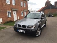 BMW X3 SPORT 2.5i AUTOMATIC 4X4 - LOW MILES - FULL SERVICE HISTORY - FREE DELIVERY - P/X WELCOME