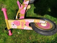 Second-hand Tidlo balance bike for sale in good condition.