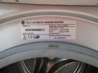 LG Washer Drier - WD 12126RD 7kg wash load size