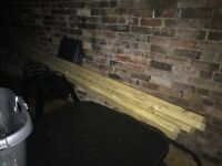 Solid Timber 4x2 3,6m long