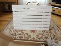 Slimline panel radiator
