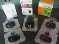 8 New HP 363 Inkjet Cartridges