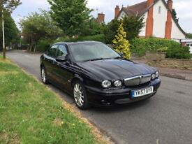 Jaguar X-Type 2.2 Diesel, Sunroof, MOT Nov 18, Half Sport Leather, Fully Loaded