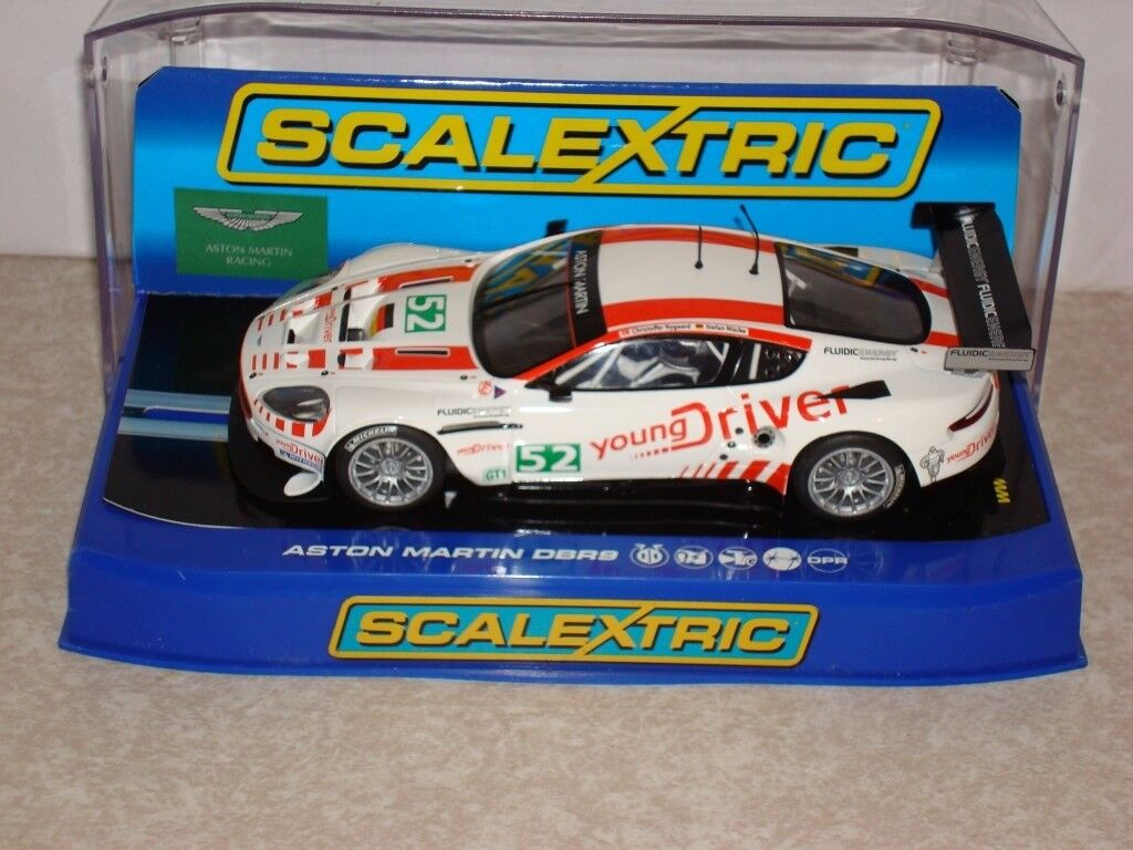 SCALEXTRIC CAR C3196 ASTON MARTIN DBR9 YOUNG DRIVER NO 52 NEW BOXED DPR CAN POST FOR A FEE