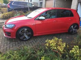 Volkswagen Golf R 5 door DSG Tornado Red cheapest 15 plate DSG within 100 miles of Glasgow