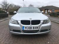 BMW 3 Series 3.0 330d Automatic 4dr saloon Silver Sat nav