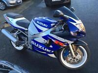 2001 Suzuki GSXR 600cc excellent condition