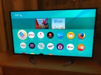 Panasonic 40 inch 4K ultra Hd smart led tv. Excellent condition. £260 NO OFFERS.CAN DELIVER