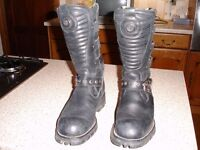 New Rock Biker Boots Size 40(7)