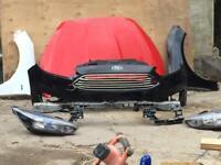 Ford Focus bonnet bumper wings headlamps £330