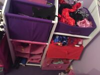 Girls storage unit / drawers
