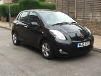 MUST SEE!! TOYOTA YARIS HATCHBACK 1.4 D-4D TR BLACK HPI CLEAR - ONLY £3799